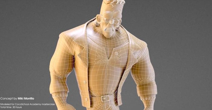 30時間で作り上げるキャラクターのトポロジーがため息しか出ない。