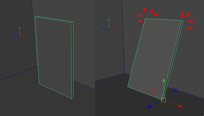 Maya オブジェクトを回転させてピタッと設置させる「Orient Mesh To Vert/Edge Tool」の使い方