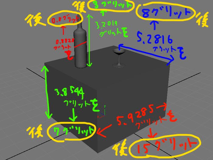 MAYA ジオメトリーのサイズを指定したサイズに簡単に変更出来る「Bounding Box Scale」の使い方