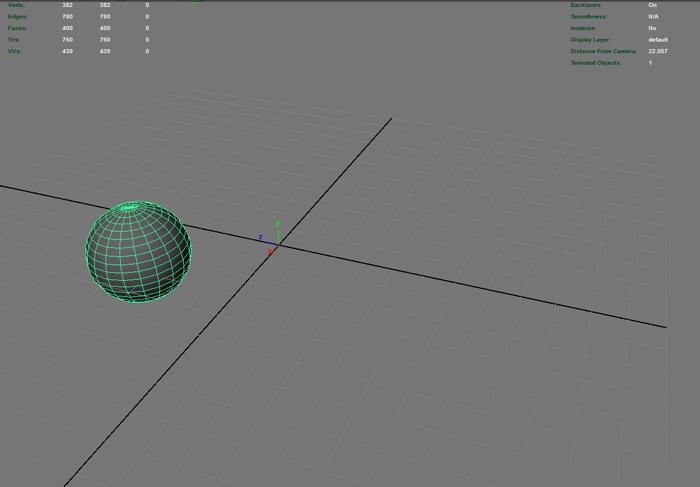 MAYA 移動ツールを使わないでオブジェクトを移動させる「Click/Drag Move Tool」の使い方
