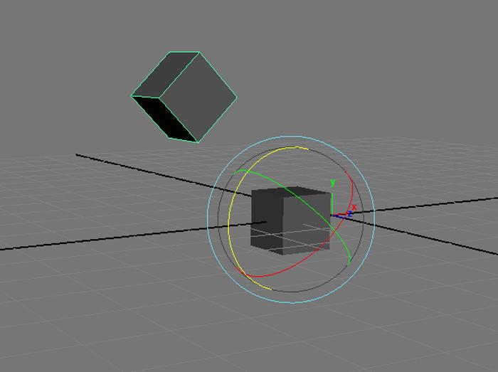 2つめに選択したオブジェクトにピボットを移動させる「copy pivot from last selected」