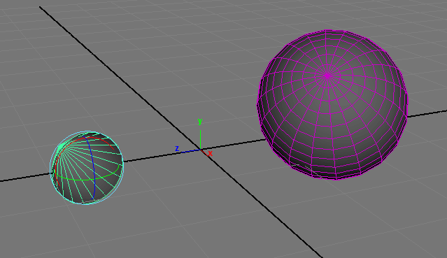 Maya コンストレイン 片方を回転すれば同じく回転する「Orient」の使い方