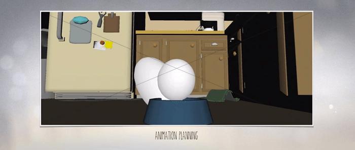最初はただの球体を動かすところから!「愛犬とごちそう」アニメーター向けメイキング映像です!