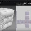 マーベラスデザイナーでクッションを作るチュートリアル動画。
