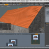 MODOで屋根を自動で付けるチュートリアル動画