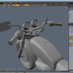 自主制作 SR400バイク製作