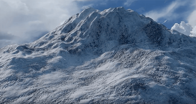 blenderを使って1から雪山を10分以内で作るチュートリアル動画 | 3DCG最新情報サイト MODELING HAPPY