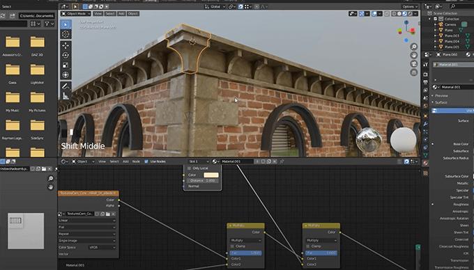 BlenderでテクスチャをUV展開で設定する方法 ...